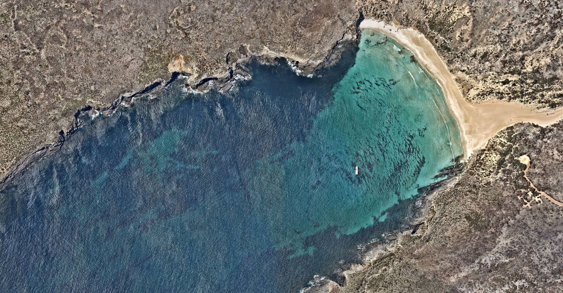 Legal Aerial image of bay, Flinders Chase National Park - Kangaroo Island, South Australia