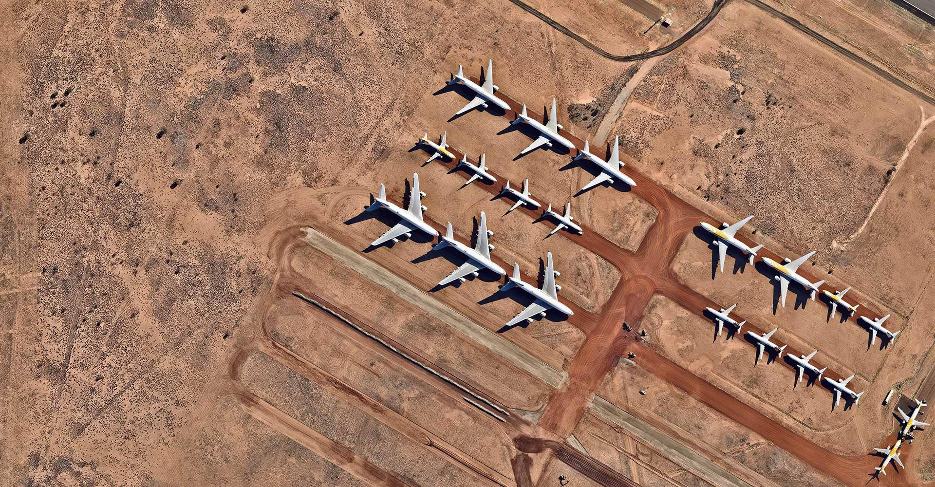 About Us aerial view transport Alice Springs airport Northern Territory