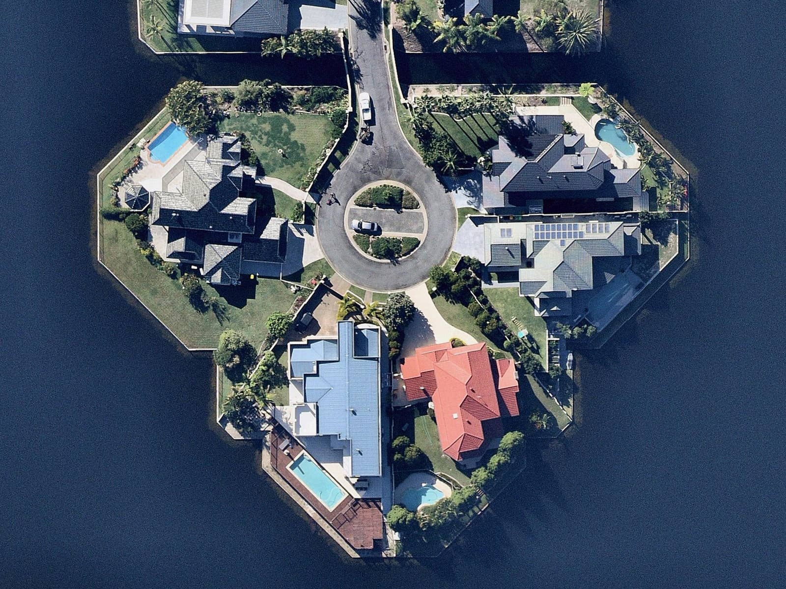 aerial, property, Southport, QLD, 2019 May 7