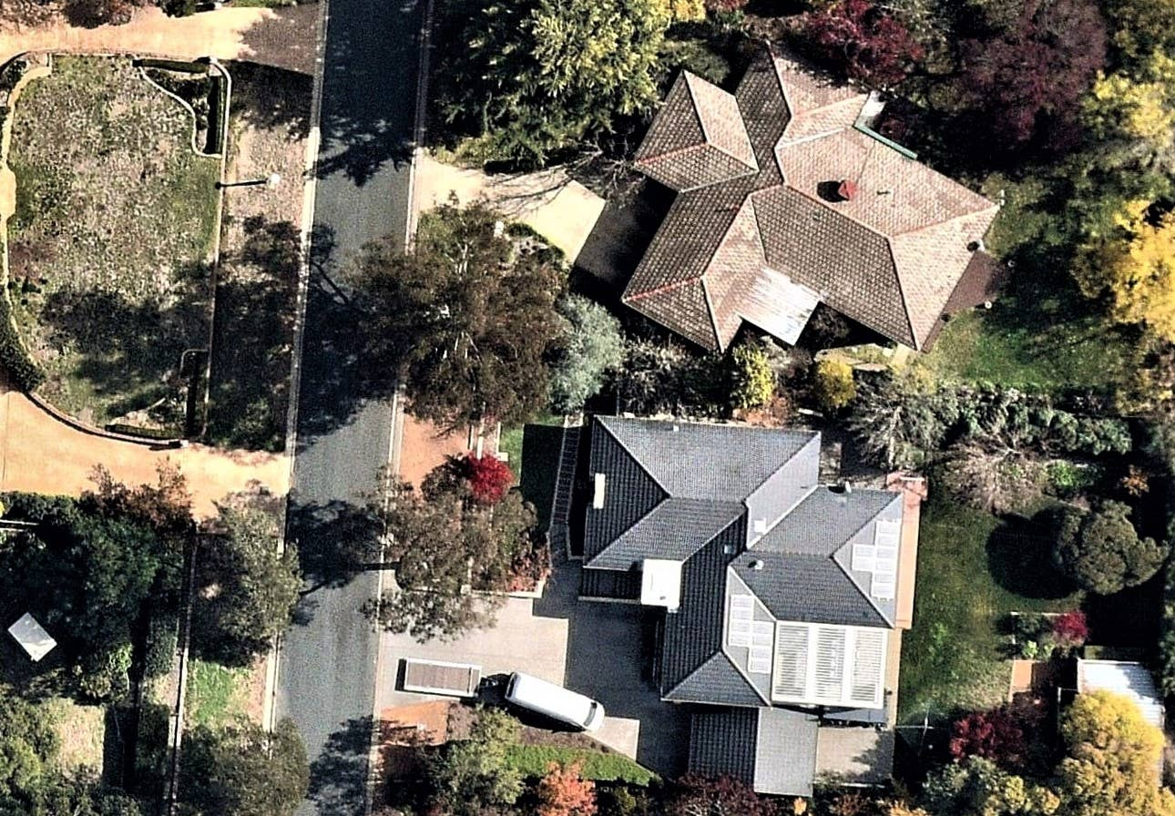 aerial, property, roofing, Farrer, ACT, 2019 May 17