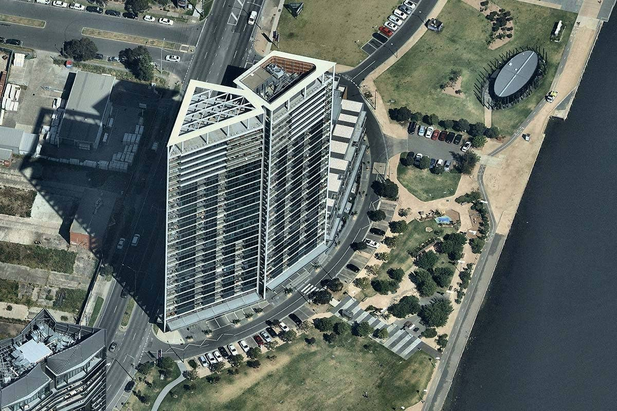 oblique, docklands, Melbourne VIC