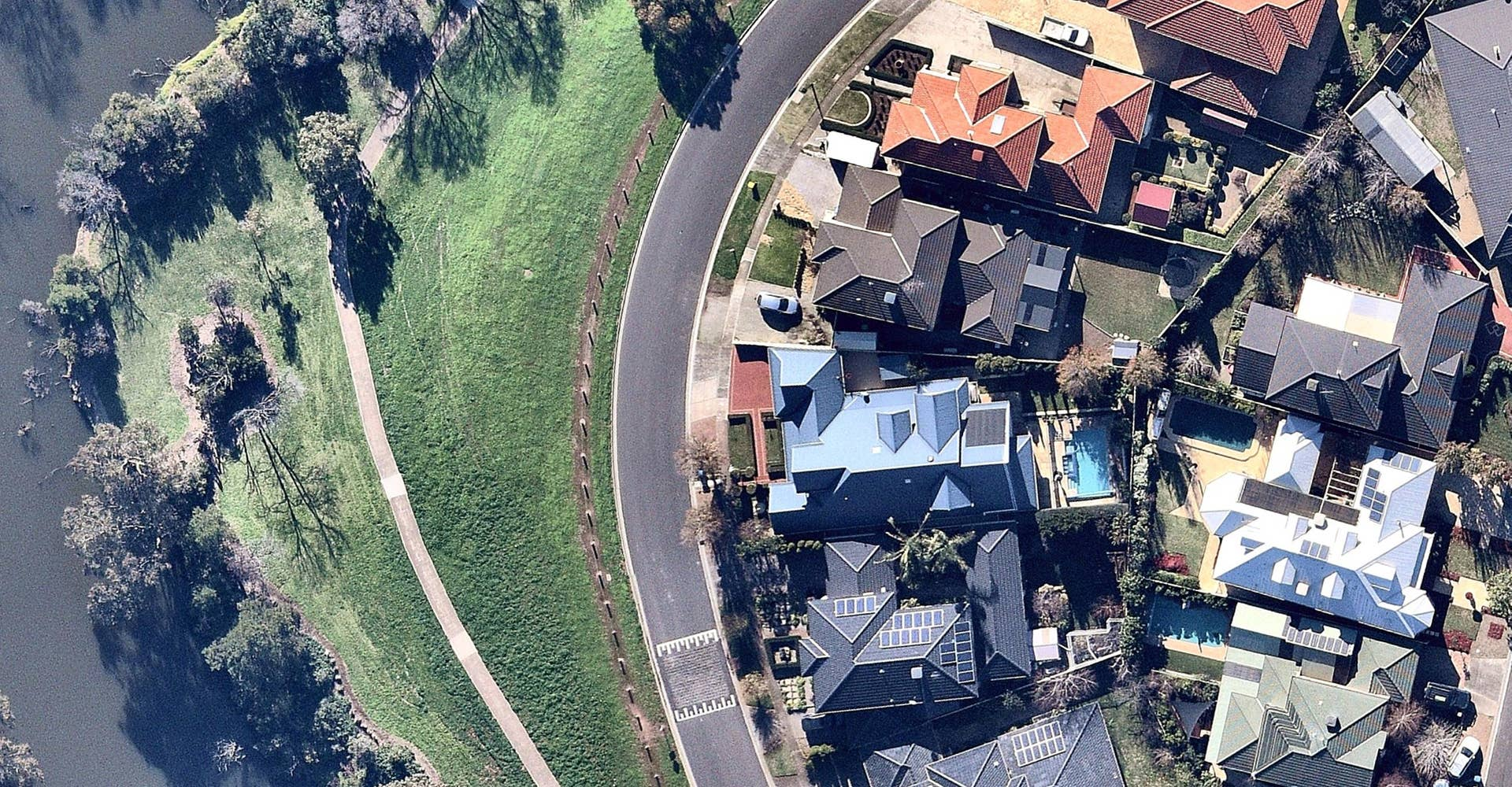 aerial, property, Werribee, VIC, 2019 April 5