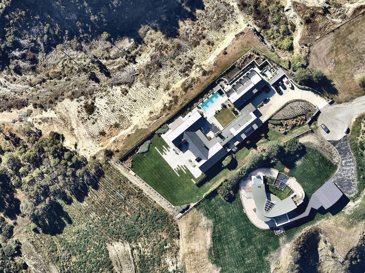 aerial image residential property kawarau falls queenstown-- 17 March 2019
