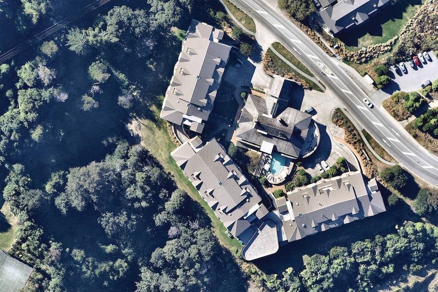 aerial image of residential property in queenstown-- 17 March 2019