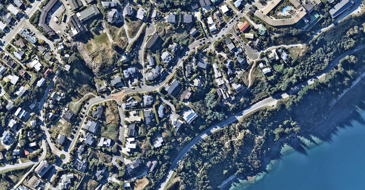 aerial image of property in queenstown-- 17 March 2019