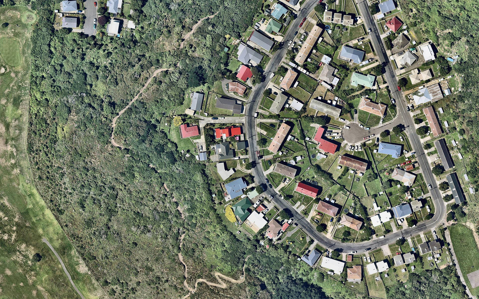 aerial, view, property, Kelson, Wellington, 11 March 2018