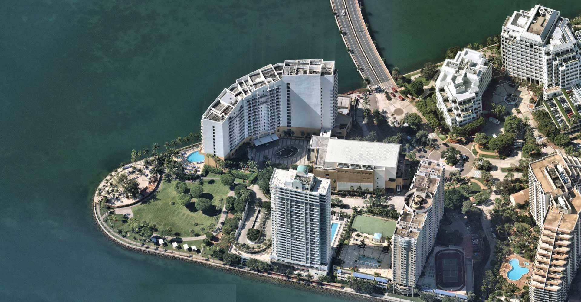 Miami Florida Oblique Aerial Imagery