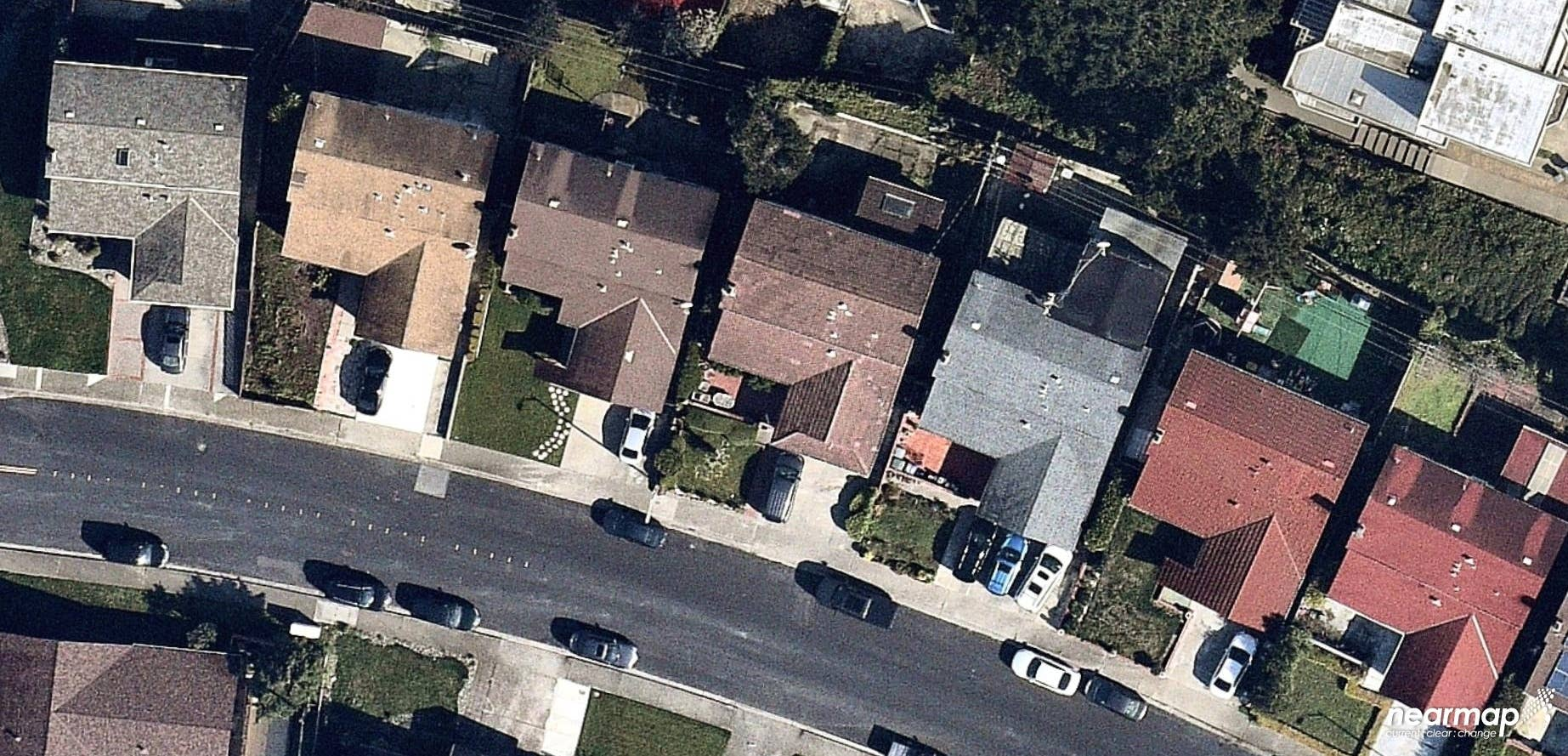 aerial, roofing, San Mateo, CA, 2019 March 17