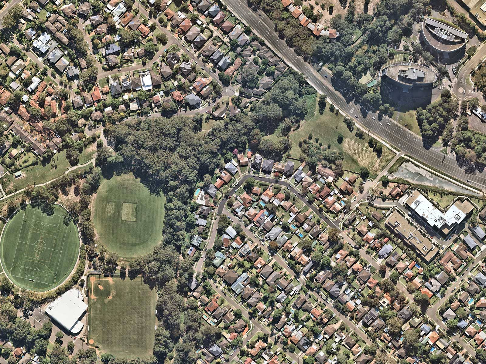North Ryde, City of Ryde aerial image