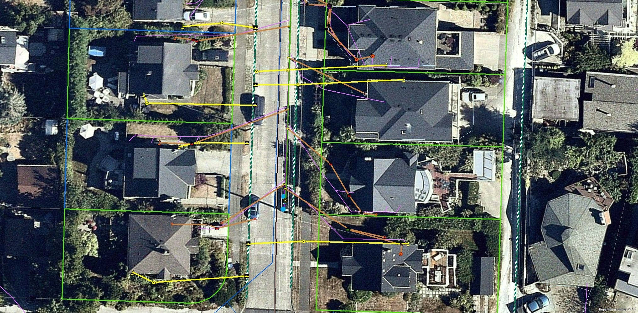aerial, imagery, mapping, integration