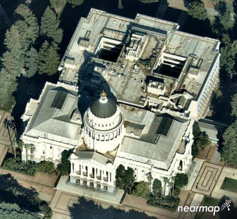 East Oblique View, California State Capitol Building in Sacramento -- 18 August 2018