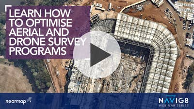 Optimise Aerial and Drone Survey Programs webinar