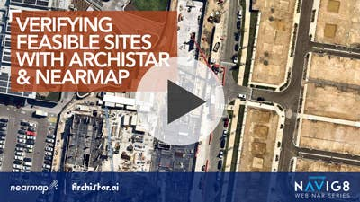 Verifying Feasible Sites with Archistar and Nearmap