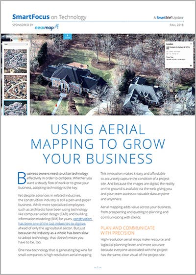 Using Aerial Mapping to Grow Your Business